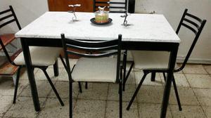 Mesa mas 4 sillas con envio,!