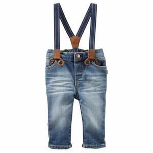 Pantalon Con Tiradores Osh Kosh Varon Talle 24 Meses