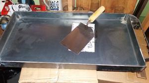 Plancheta 2 hornallas con espátula de regalo