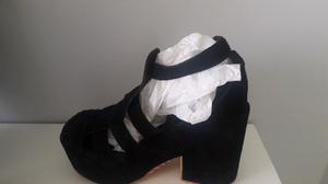 Sandalias de gamuza