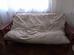 Sillon de 3 cuerpos se hace cama.