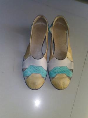 Vendo zapatos de cuero, número 36