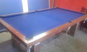 mesa de pool y ping pong completa $