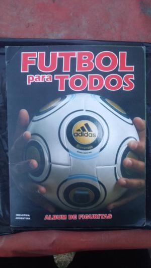 Album de Fútbol Apertura 09' + Lote de Figuritas