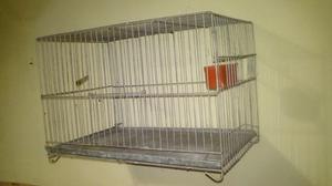 Vendo jaula rectangular para canarios