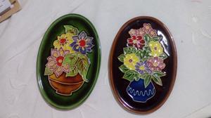Vendo juego platos decorativos