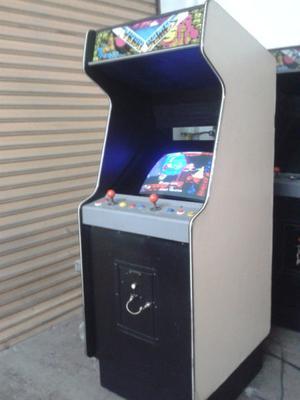videojuego arcade retro street fighter 2 o mortal kombat