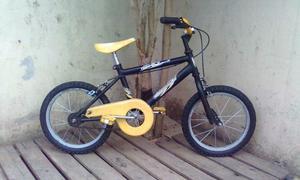 BICICLETA BMX UNIBIKE RODADO 16 MUY BUEN ESTADO Y LISTA PARA