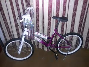 Bici muy poco uso rodado 20 de 7 a 11 años impecable