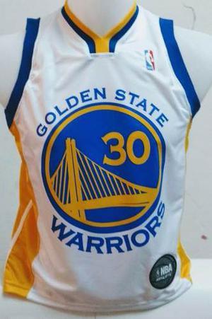 Camiseta Basquet Nba Golden State Curry Warriors 2 Modelos