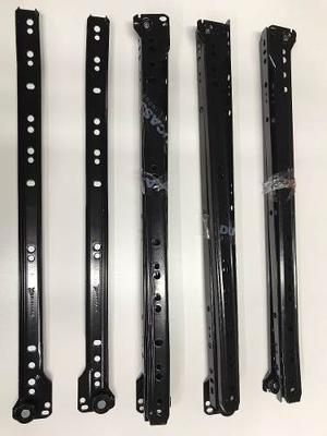 Correderas Para Cajon 40 Cm Color Negro.combo Por 1 Unidad