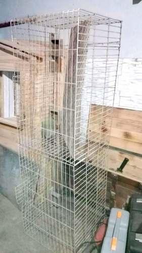 Jaula Para Conejos Con Bebederos Y Comederos