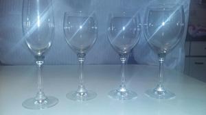 Juegos de copas de cristal alemán 48 piezas - SIN USO
