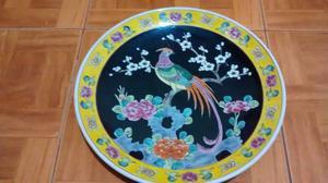 Platos decorativos japoneses, grandes! $450 c/uno