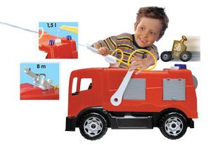Super Camion Bomberos Lanza Agua Brutus Antex