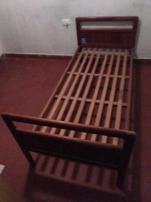 Vendo cama de cedro 1 plaza