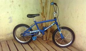 bicicleta zenith rodado 16 azul ! excelente y lista para