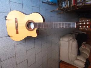 Guitarra elecrocriolla Fonseca 41 Kec