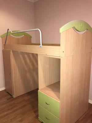 Juego de dormitorio de 1 plaza infantil