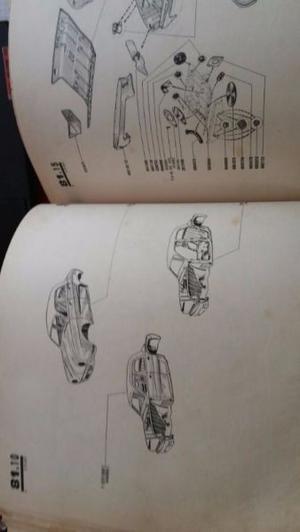Manual de partes y despiece Renault Gordini ORIGINAL