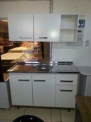Mueble De Cocina Combo Bajo Mesada Y Alacena  Mm
