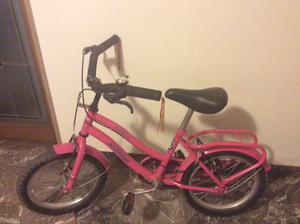 Regalo de navidad. Bicicleta de nena rodado 16