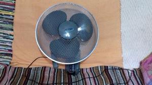 Ventilador De Pared Negro Con Control Remoto Luft