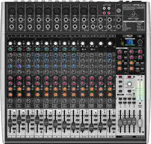 Consola Behringer Xenyx X Usb Mixer 10 Ch Xlr Efectos