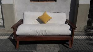 Futon cama de 2 plazas