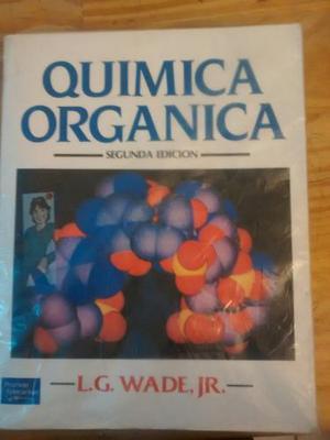 Quimica Organica. Wade. Muy Buen Estado!