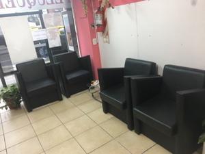 Sillones sala de espera posot class - Sillones de peluqueria ...