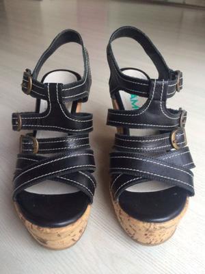Zapatos Viamo negros