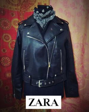 Class Nueva Posot De Zara Campera Mujer Cuero xT6Yxq7