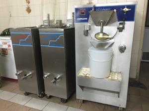 Fabricadora para helados carpigiani