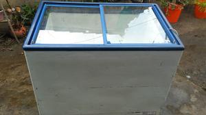 Freezer horizontal exhibidor ideal par helados $