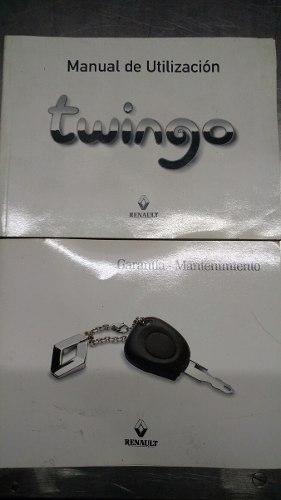 Manual De Usuario Y Garantía Renault Twingo Original