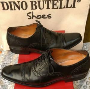 Zapatos de vestir color peltre marca giorgio  85bbbd455078a