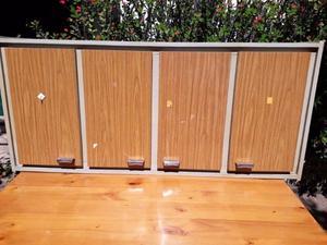 Alacena x madera maciza 2 puertas de posot class for Alacena madera maciza