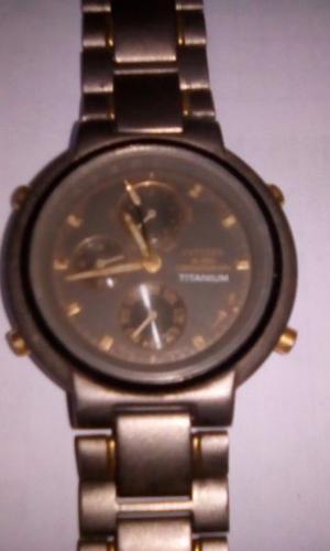 vendo reloj citizen titanium a reparar escucho ofertas
