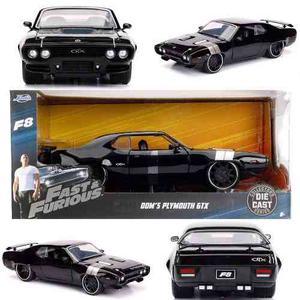 Fast & Furious / Rápido Y Furioso Dom´s Plymouth Gtx 20 Cm