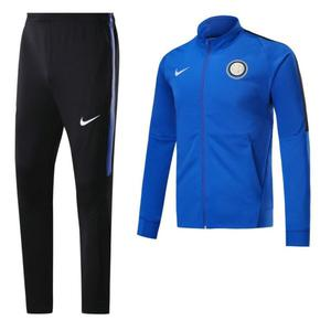 Inter Milan  azul chaqueta de futbol gratis envio