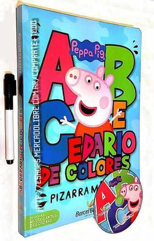 Libro Abecedario De Colores Peppa Pig Pizarra Mágica
