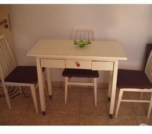 Mesas mesa auxiliar de cocina en madera posot class for Mesa auxiliar de cocina con ruedas