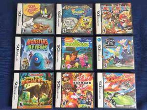 Pack 2 Nintendos Ds 27 Juegos Posot Class