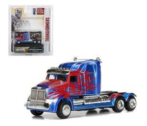 Transformers Metals Die Cast Optimus Prime Robot En Chasis