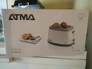 Vendo cafetera y tostadora Atma nueva