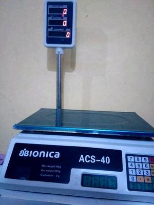 Balanza Comercial Digital con Torre