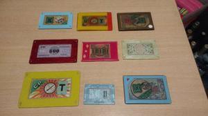 Fichas De Casino Un Lujo.placas 10 X 300.redondas 10x 100