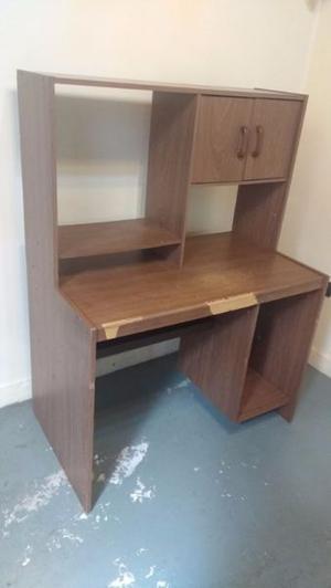 Mueble escritorio alacena de melanina $ 950