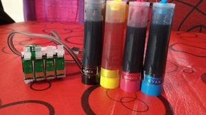 Sistema Continuo Para Epson Xp201 - Xp211 - Xp401 C/tinta